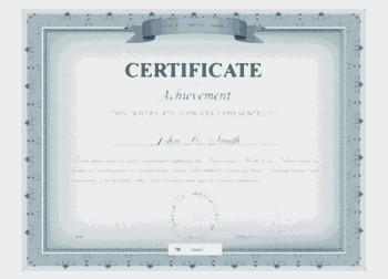 NYC DMV Certificate
